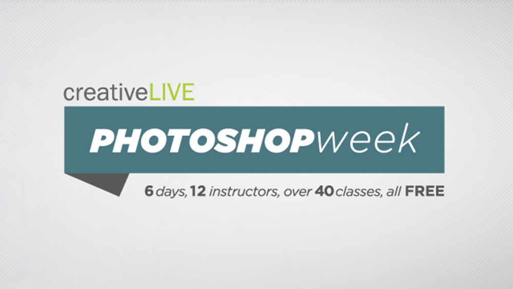 creativeLIVE Photoshop Week