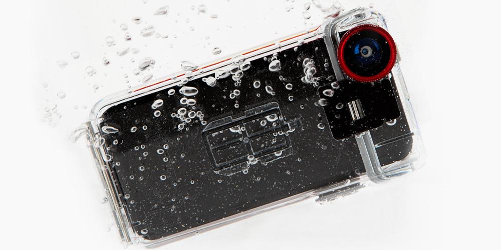 Optrix, iPhone, iPhone-5, iPhone-case, waterproof-case.