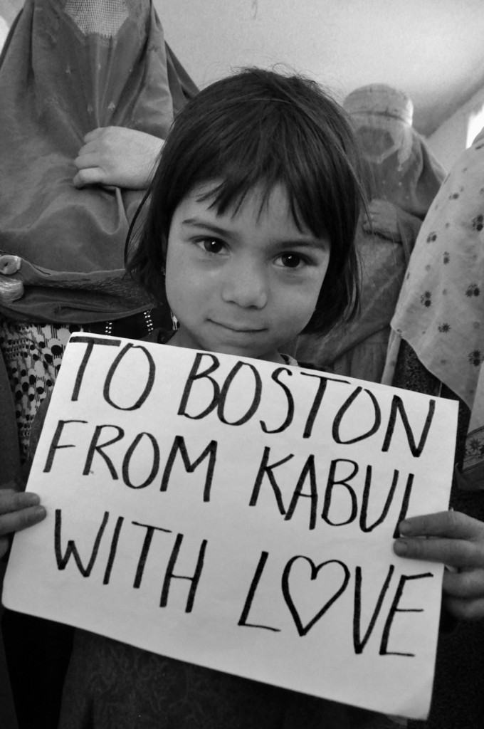 Beth-murphy, Little-girl, To-boston-from-kabul, With-Love, boston-bombing, boston-marathon