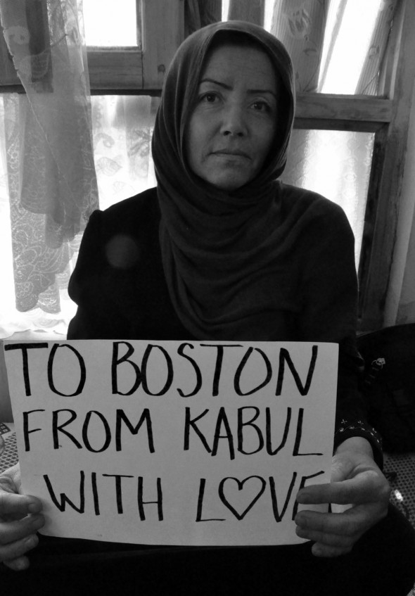 Beth-Murphy, Sahera, To-boston-from-kabul, With-love, boston-bombing, boston-marathon