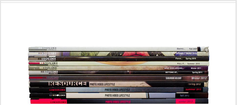 Resource-magazine, retail-store