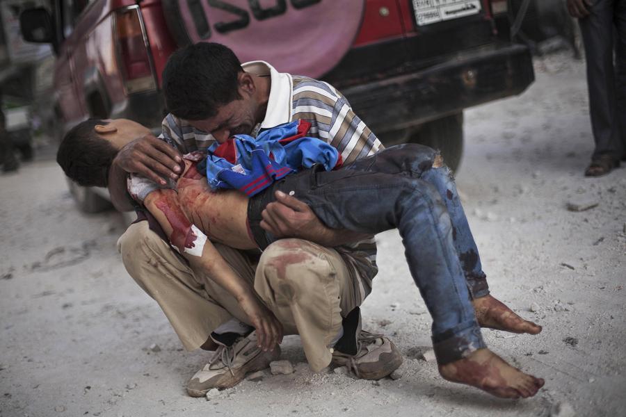Syrian-Civil-war, Pulitzer-Prize, Manu-Brabo, Associated-Press