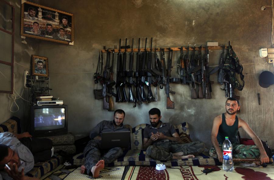 Free-Syrian-Army, Syrian-Civil-war, Pulitzer-Prize, Khalil-Hamra, Associated-Press