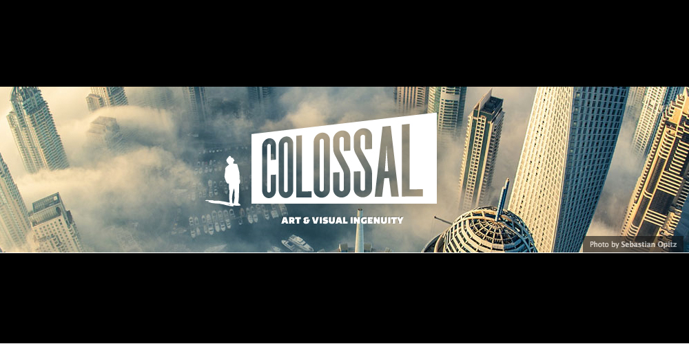 Colossal: How you can embrace non-digital Art online?