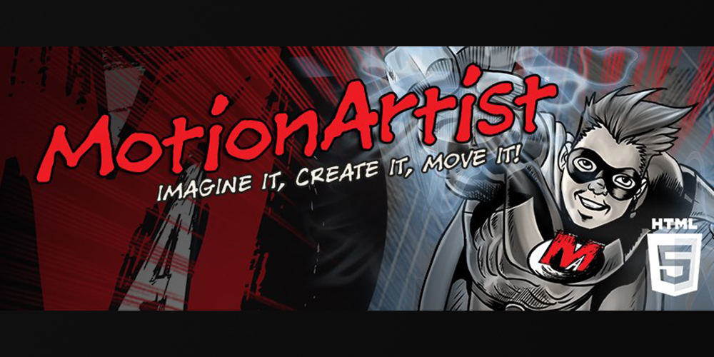 MotionArtist, comic-books, Jordan-Bentley, comic-book, HTML5,