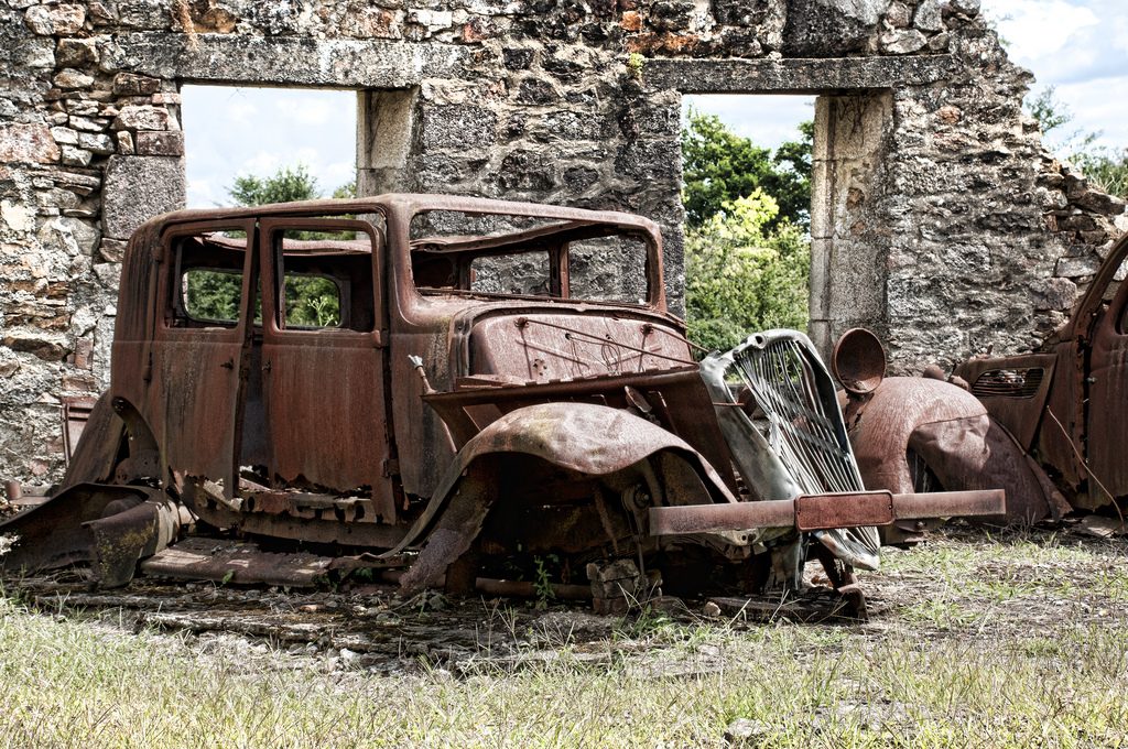 Rusty Old Car Wallpapers