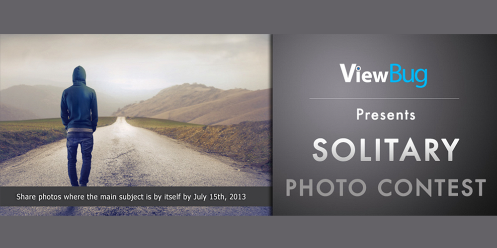 photo-contest, viewbug, photography, solitary