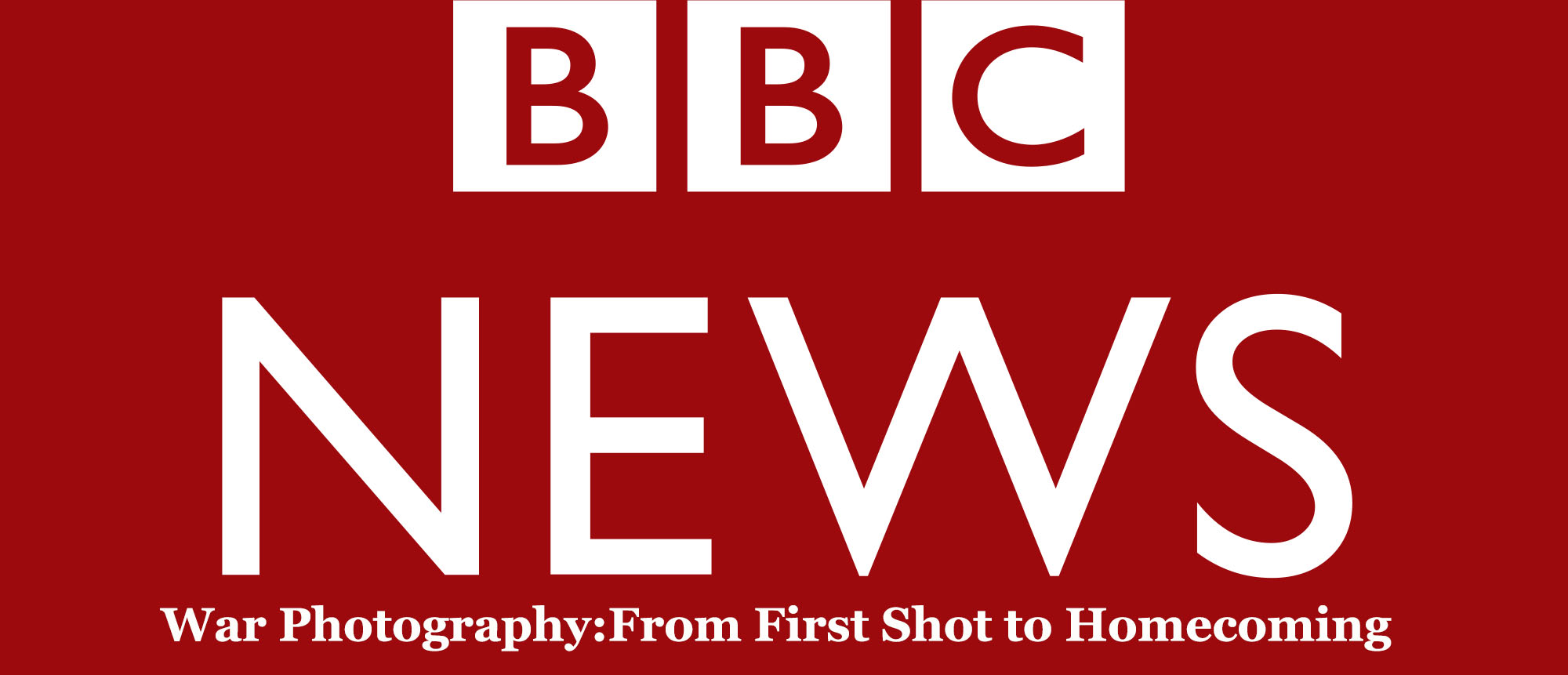 War photography, BBC, photojournalism