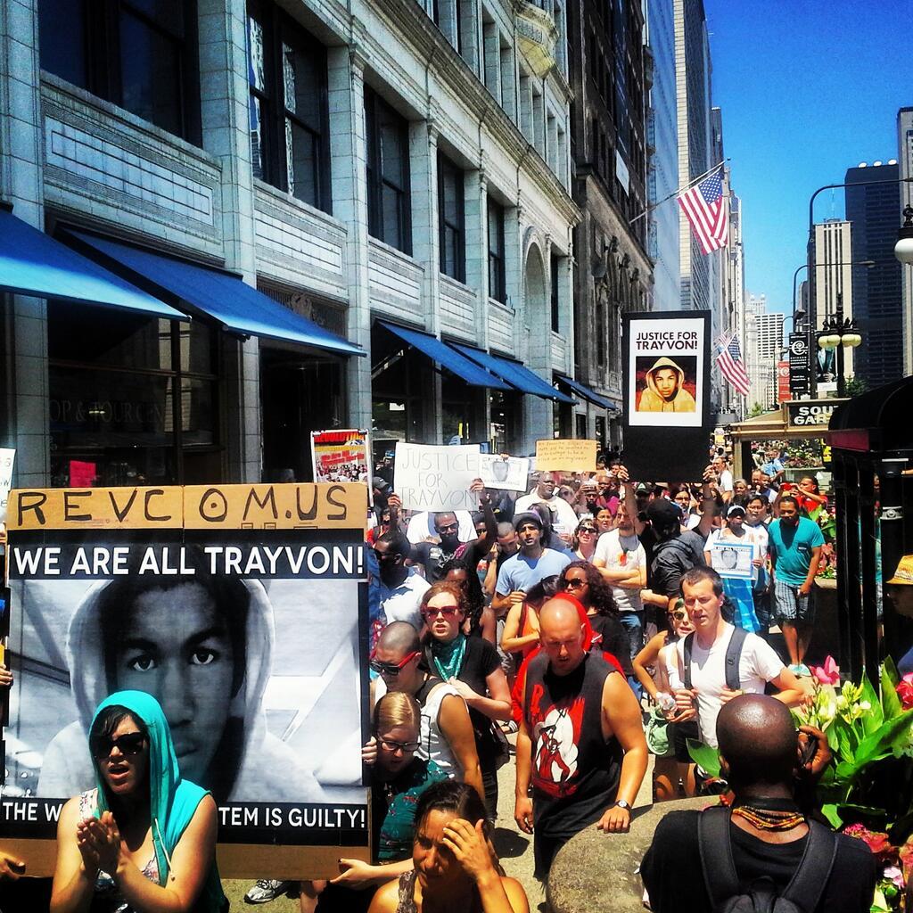 Chicago, Trayvon Martin,