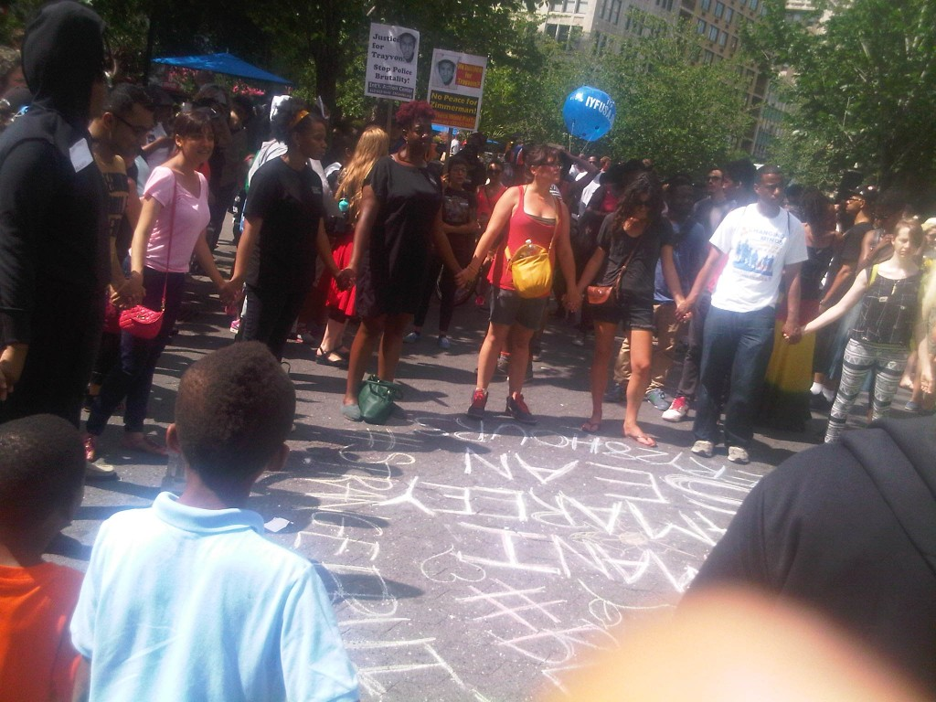 Union Square, Trayvon Martin, New York, rallies