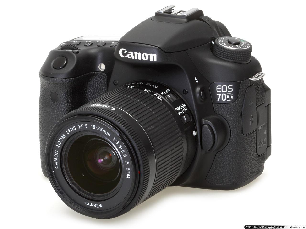 Canon, Canon EOS 70D, camera