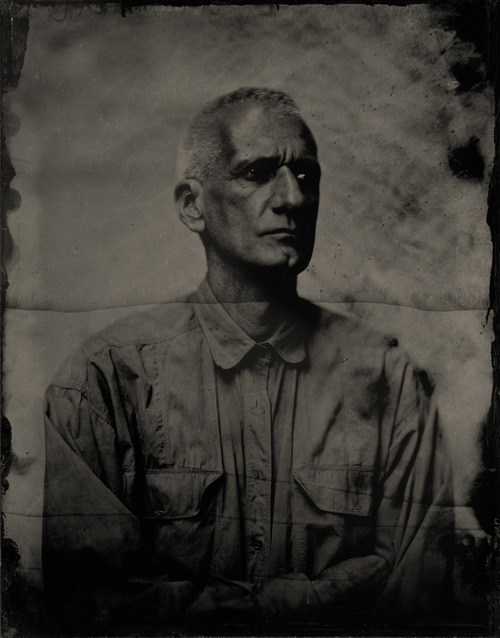 Boogie, Making of Demons, wet-plate, photography