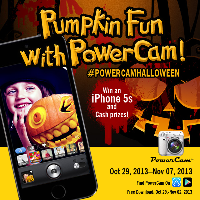 powercam, wondershare, photo-contest, app-of-the-week, halloween, instagram