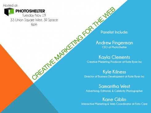 apany, creative-marketing-for-the-web, panel, photographers, andrew-fingerman, photoshelter, kayla-clements, kate-ryan-inc, kyle-kilness, samantha-west, kane-giblin, foto-care