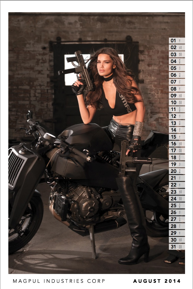 Dixie-Dixon, Magpul, Calendar, Bad-Ass, Photography, Fashion