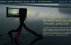 Nokia Lumia 1020 Transitions Website