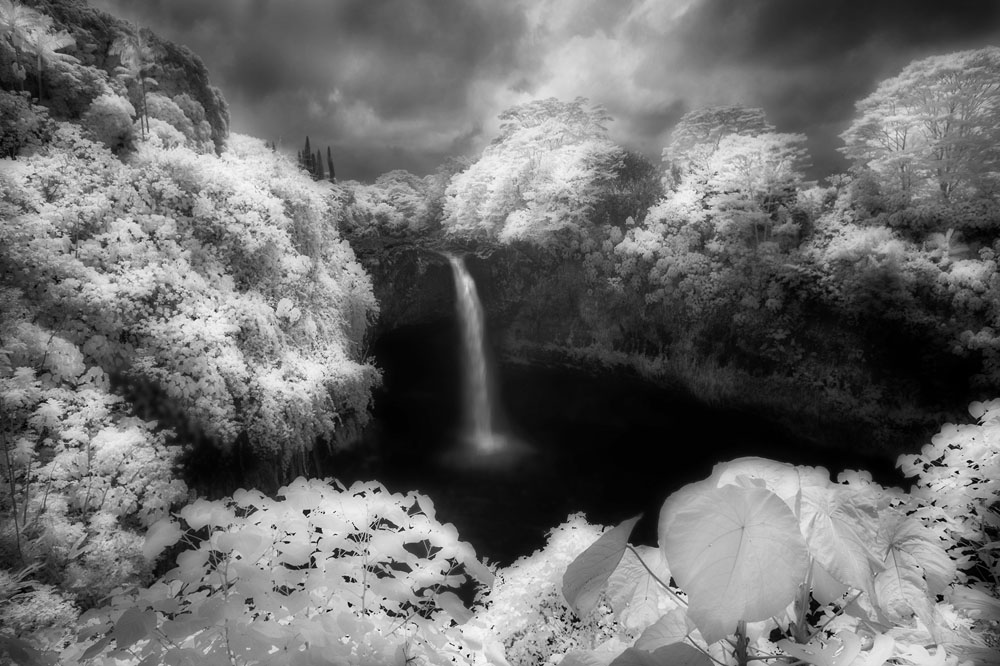 Russell grace angela kullmann infrared photography black and