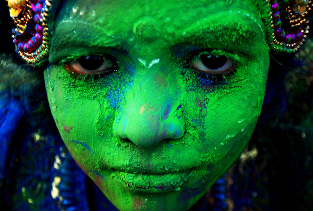 © Asit Kumar/AFP/Getty Images, holi-celebrations, 2014, India, Photogrpahy, festival-of-colors