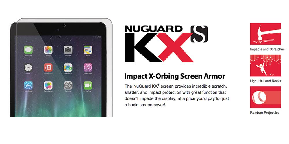 NuGuard-KXs-Screen-Protector, screen-armor, impact-absorbing-screen-protector