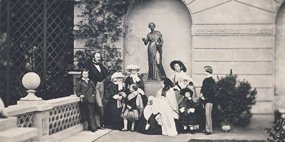 Getty-Center, exhibit, historical-photographs, Queen-Victoria