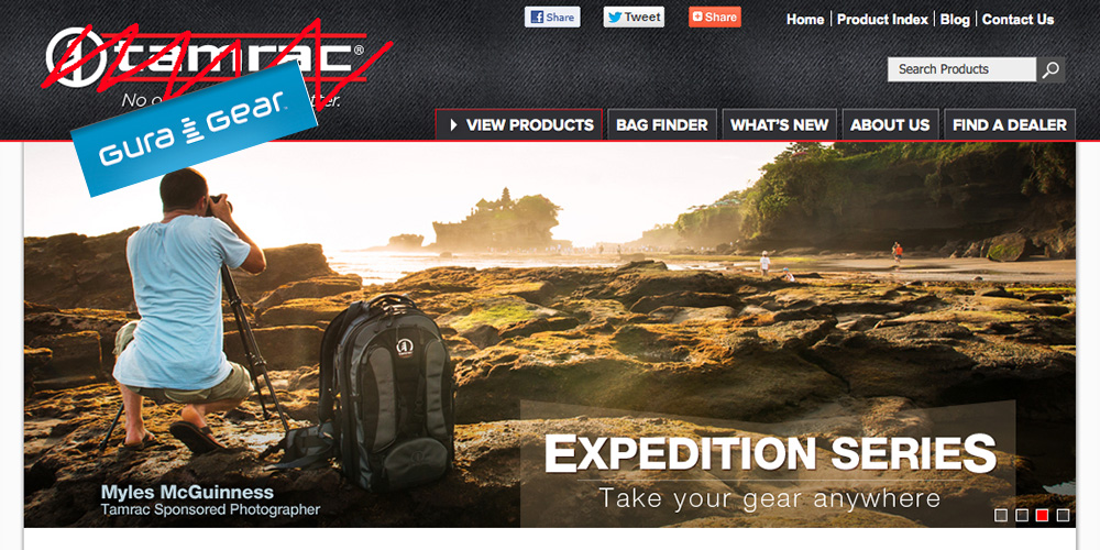 gura-gear, tamarac, photography, camera-bag, bankruptcy, acquisition