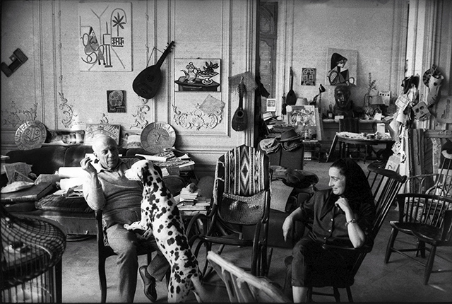 olivier widmaier picasso curates rare photography exhibit