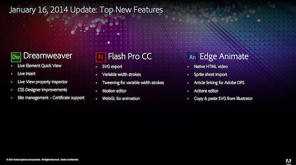 adobe, creative-cloud, software-release, photoshop, lightroom, flash-pro, dreamweaver, edge-animate