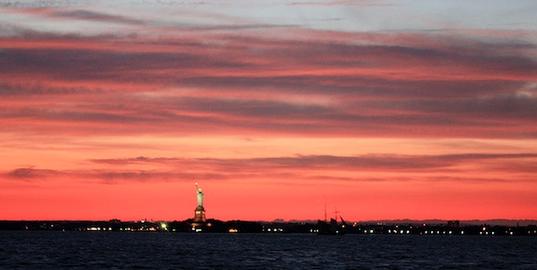 new-york, sunset, skyporn, photography, arts, inspiration
