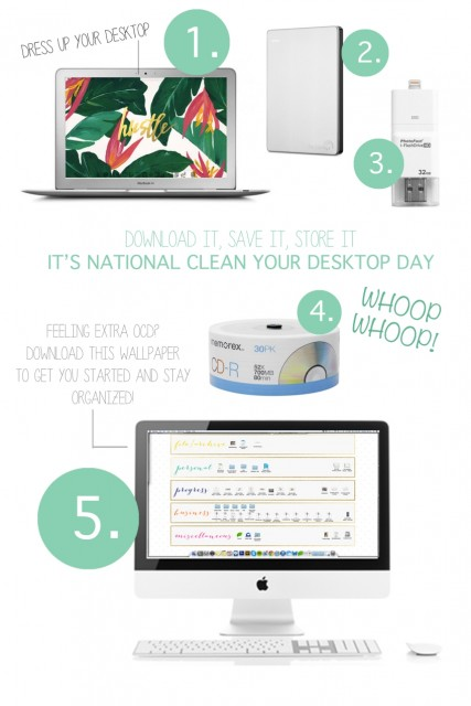 advice, national-clean-your-virtual-desktop-day, office, organizing, photography, props, styling, tips, tricks, the-prop-stylist