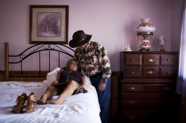 'Deerman' lost his wife to cancer and ended up buying this doll years later © Benita Marcussen