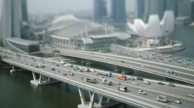 keith-loutit, the-lion-city, tilt-shift-time-lapse