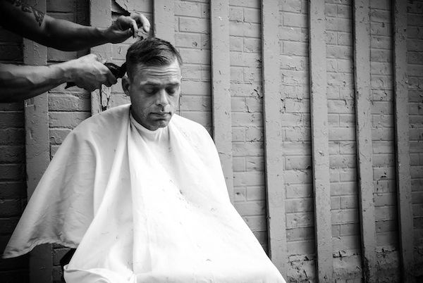 Devin Masga, event, photography, photography event, beaweseometosomebody, homeless haircuts