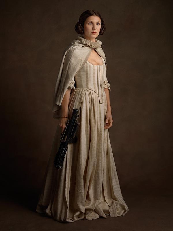 Princess Leia, Portrait, photography, Super flemish, superheroes, .