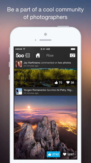 500px Releases New Photo-Taking & Photo-Editing App - Resource