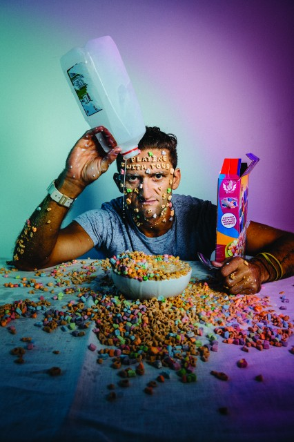 Casey Neistat: Playing With Food