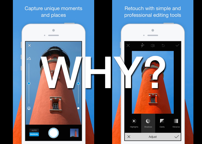 new 500px app is a confusing business decision