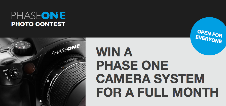 "Win a Phase One for a Month: Show Them ""What the World's Best is Made Of"""