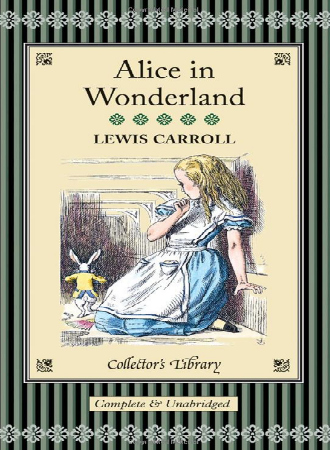 Alice-in-Wonderland-by-Lewis-Carroll-Collectors-Library-Book-Cover