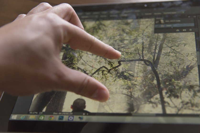 Review Surface Pro 3 Photoshop Touch Workspace zooming