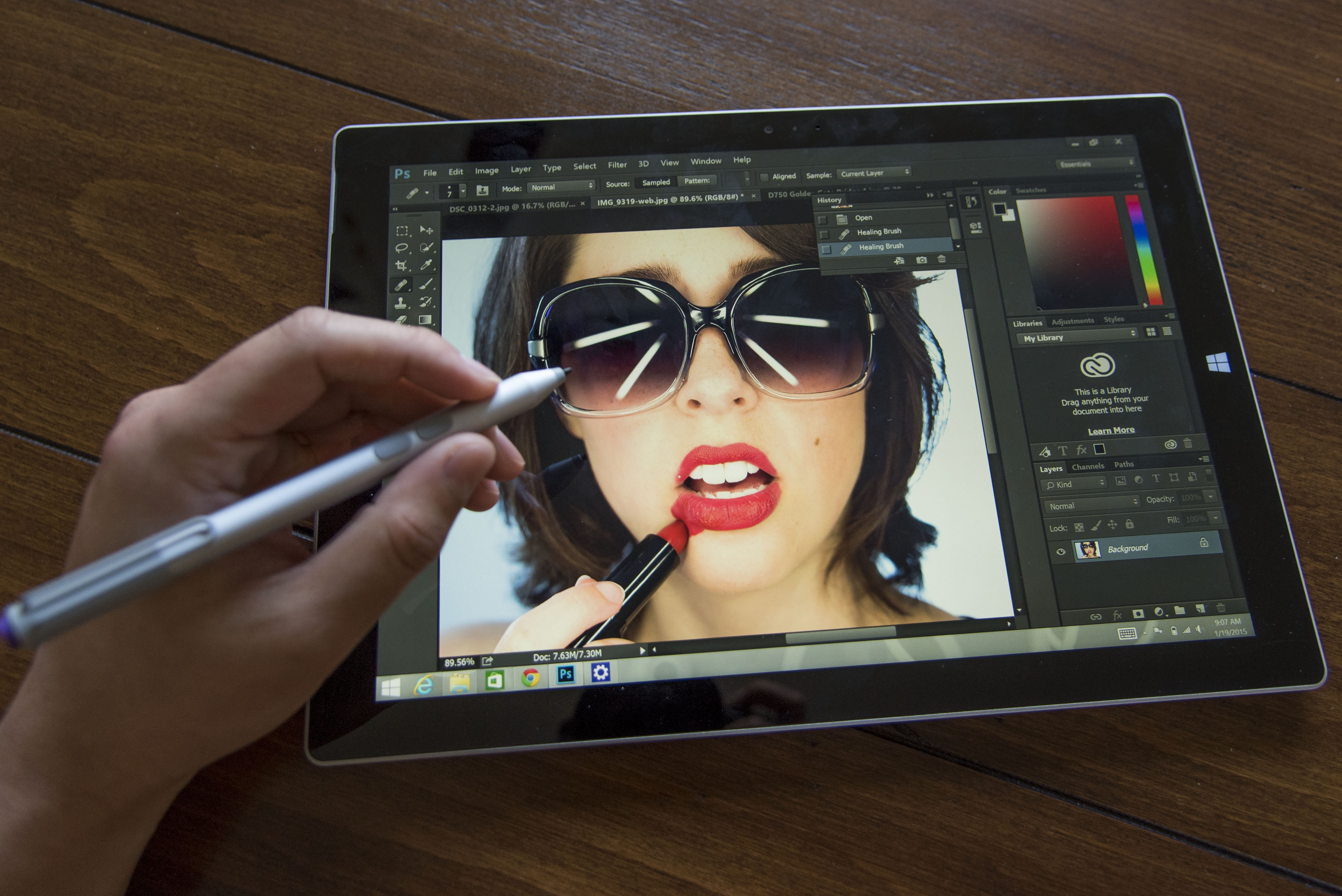 adobe photoshop touch workspace worth buying a surface pro 3 rh resourcemagonline com Adobe Photoshop Elements Adobe Photoshop Tools