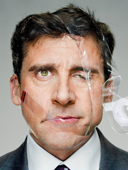 Steve Carell, 2009 © Martin Schoeller Coutesy of teNeues