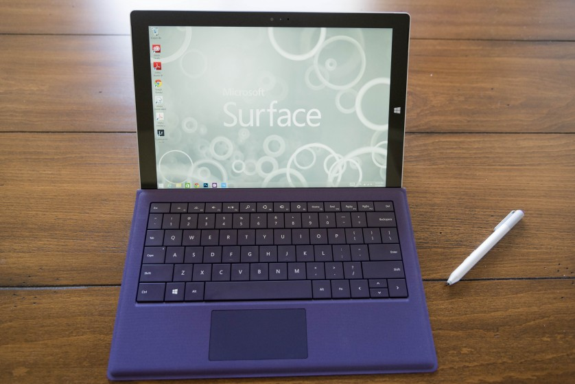 surface pro 3 review desktop and start menu