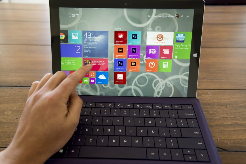 surface pro 3 review main screen