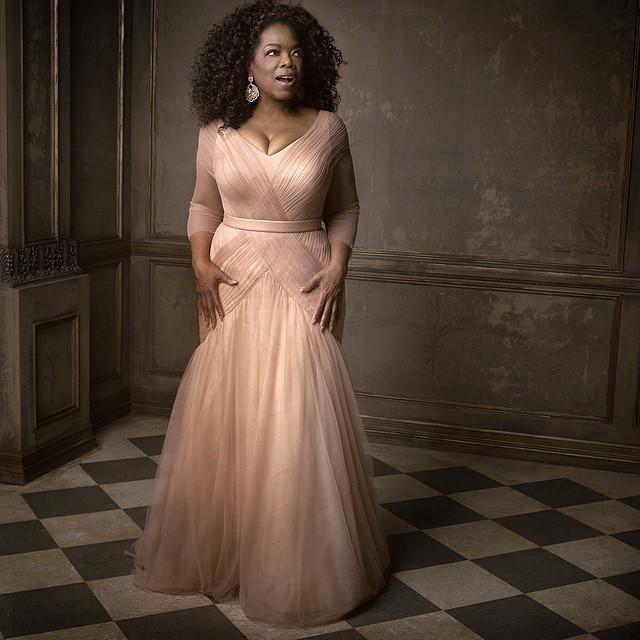 "The ""Glory"" of @oprah #vfoscarparty © Vanity Fair"