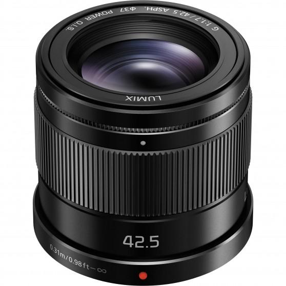 Panasonic 42.5mm f:1.7 lens