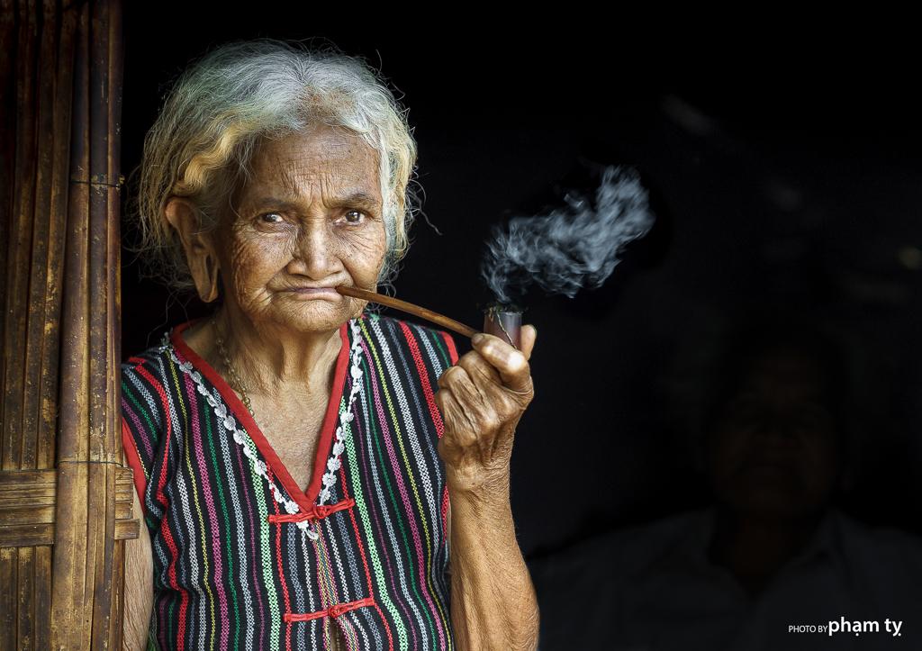 1. smoking women