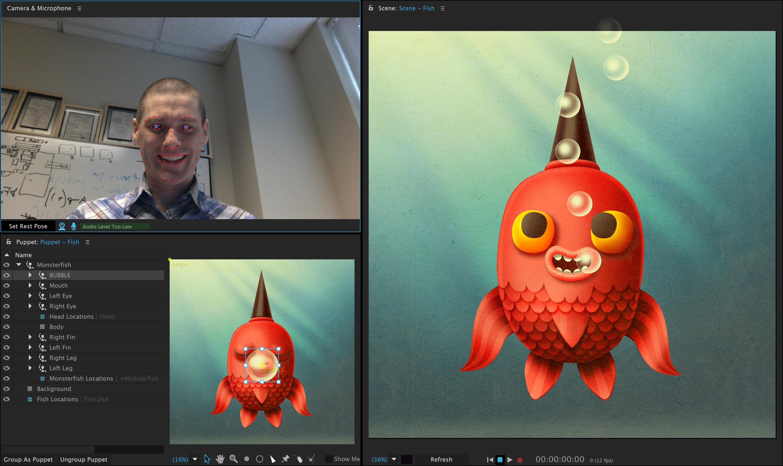 Muy delisiosa animation facial software
