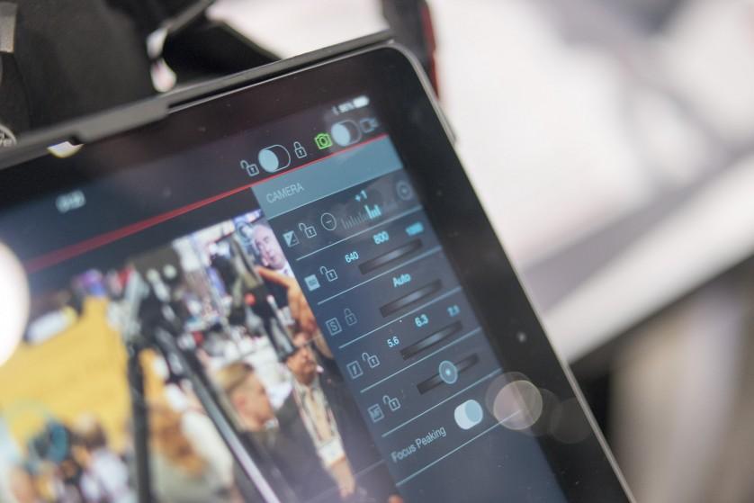 Digital Director Camera Controls