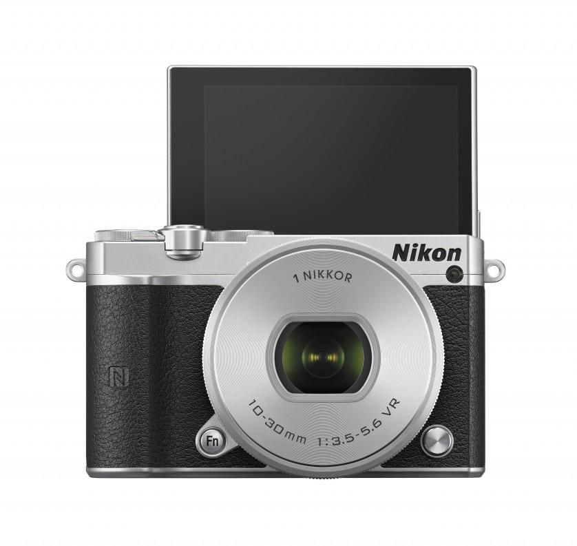 Nikon 1 J5 Front Tilt Screen