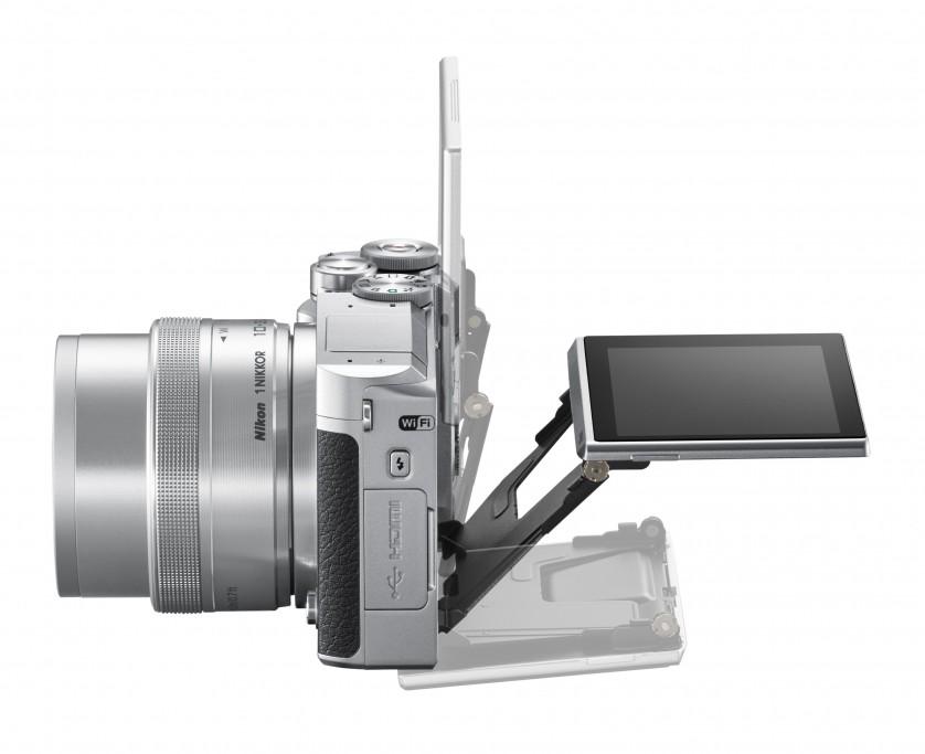 Nikon 1 J5 Side Tilt Screen